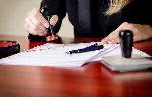 Notary Stamping a Will